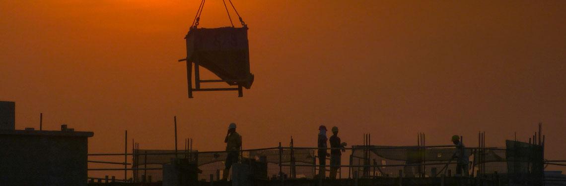 Construction, public works