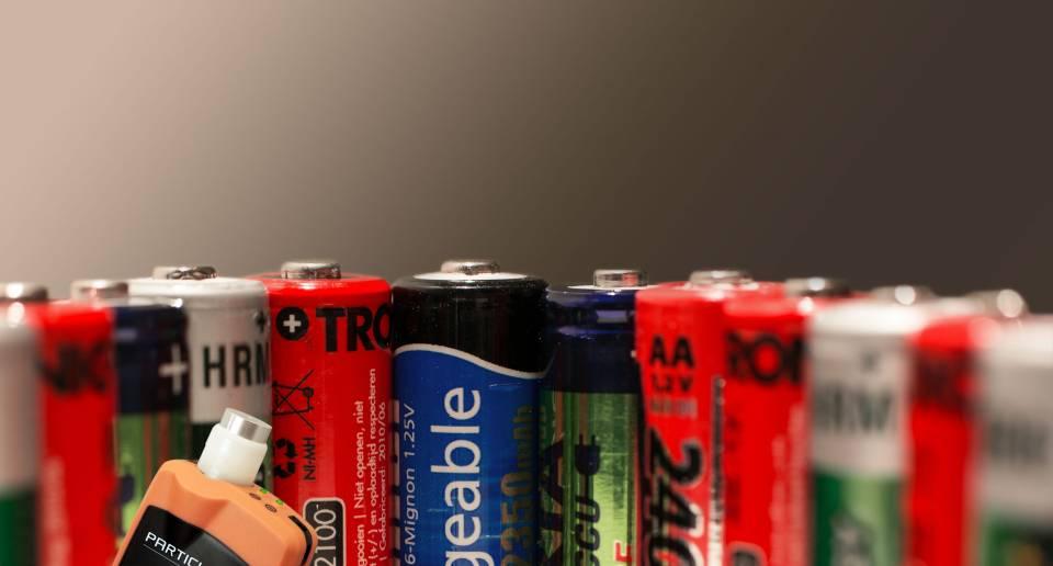 Mesure de particule Fabrication batteries
